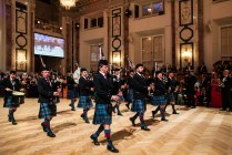 Vienna Pipes and Drums at the IAEA Ball