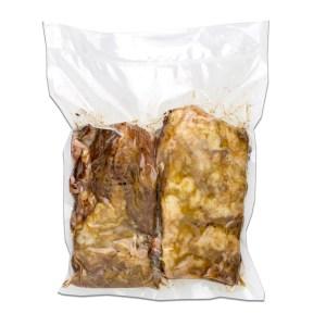 costine di maiale sottovuoto in buste da 250 gr c104 1.1