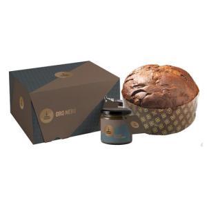 oro nero scatola con gocce di cioccolato alla gianduia da 1000 gr d113 1