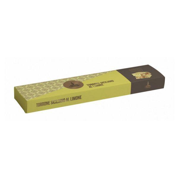 torrone siciliano al limone da 150 gr d140 1.1