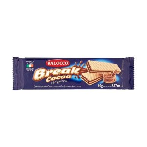 balocco break cocoa wafers 90 g