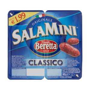 fratelli beretta salamini classico 85 g