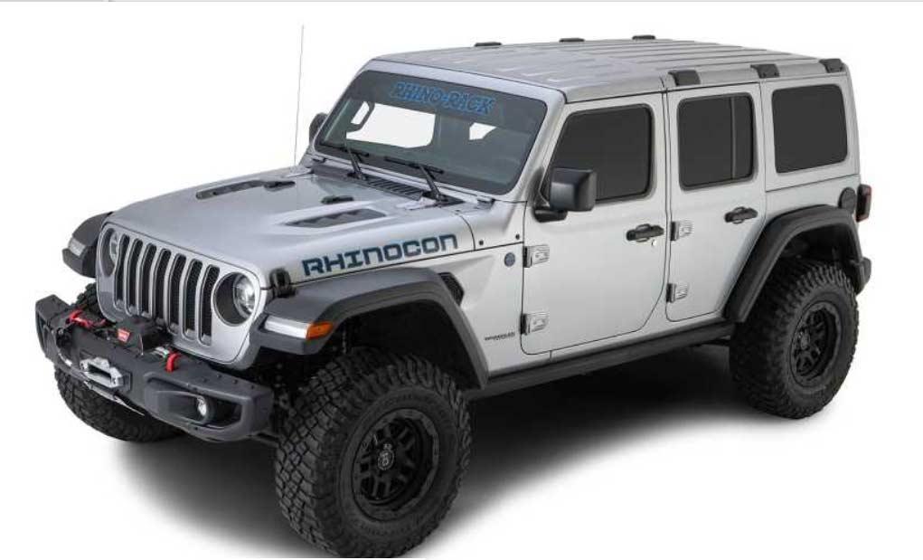 dachtrager kit rhino rack pioneer plattform 1828x1426mm backbone rcl jeep wrangler jl 4dr