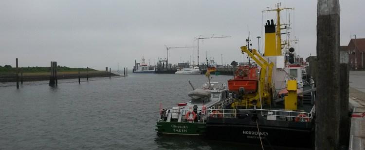 Termunterzijl – Borkum – Norderney