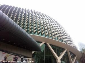 Cladire moderna, balet Singapore