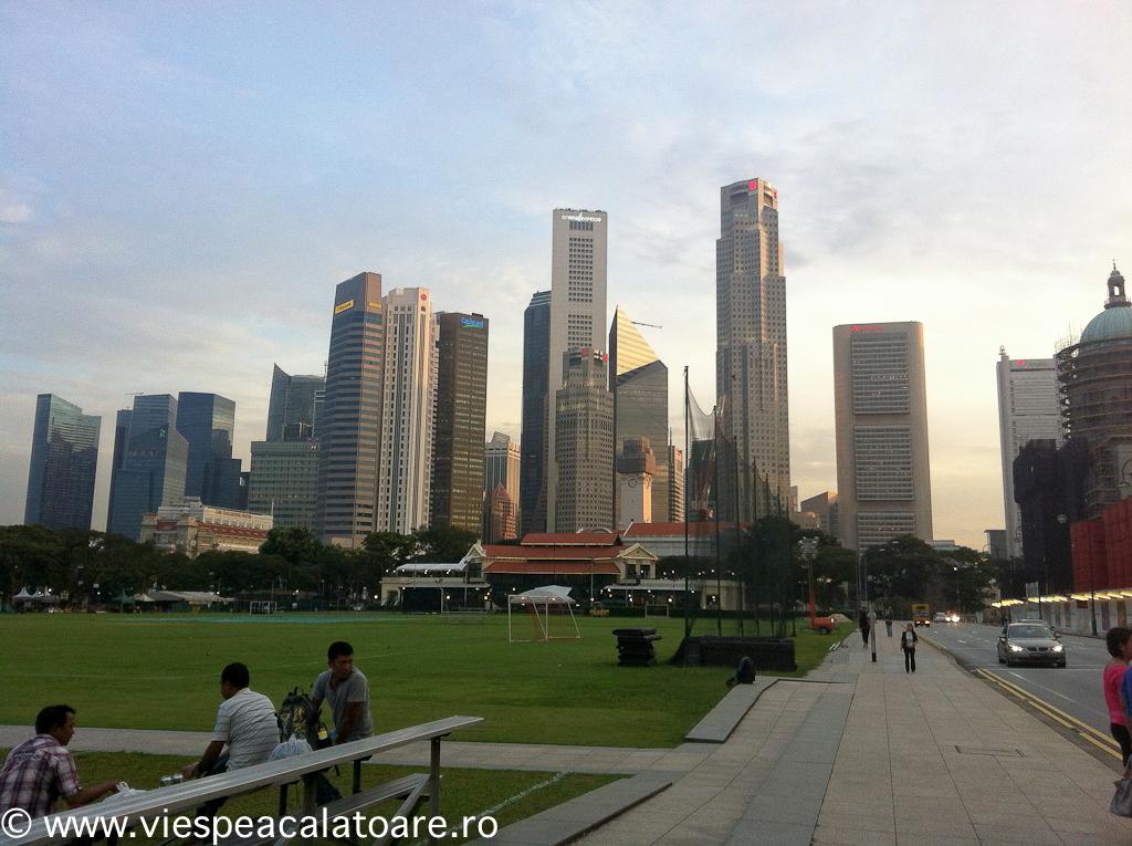Singapore, Centrul Financiar, Hotel Fullerton.