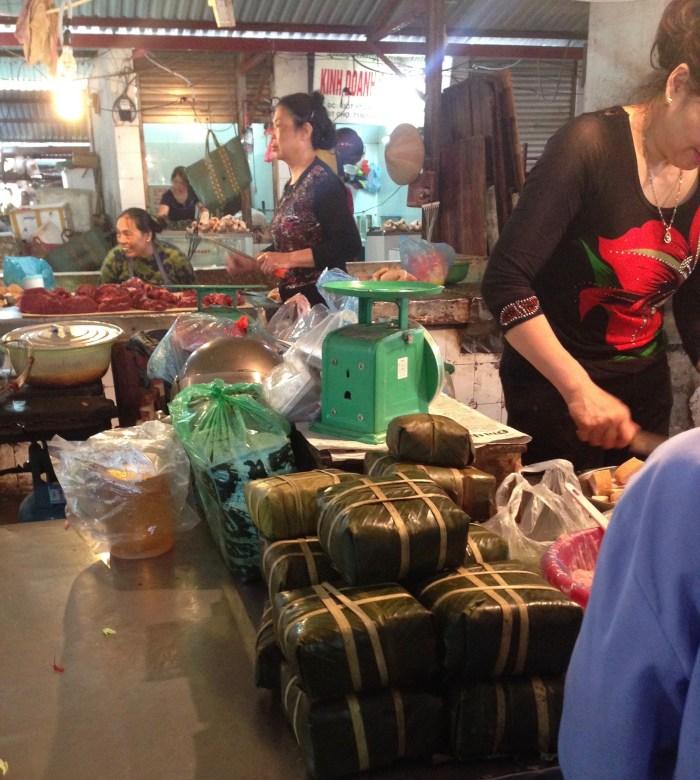 banh chung Tet rice cakes