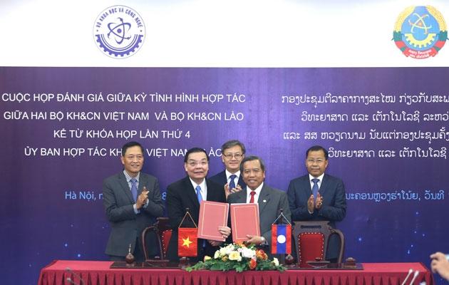 Hợp tác khoa học cong nghe Việt Lào
