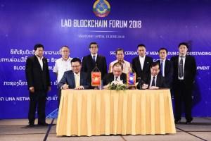 Lao Blockchain Forum 2018.
