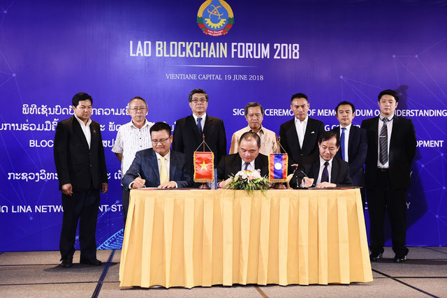 Lao Blockchain Forum 2018.