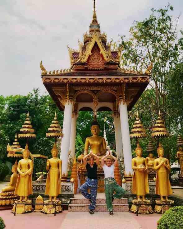 Chùa Wat Sisaket tại Lào.