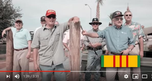 "Vietnam Vets Sing ""We Gotta Get Out Of This Place"" by The Animals"