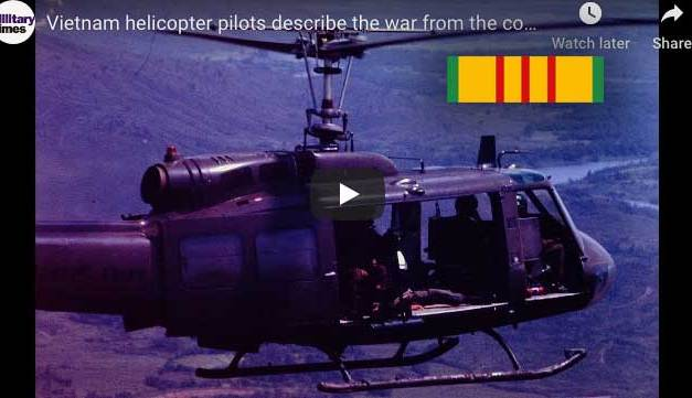 Vietnam helicopter pilots describe the war from the cockpit