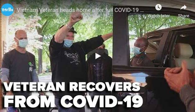 Vietnam Vet Beats COVID 19 and Completes Full Recovery