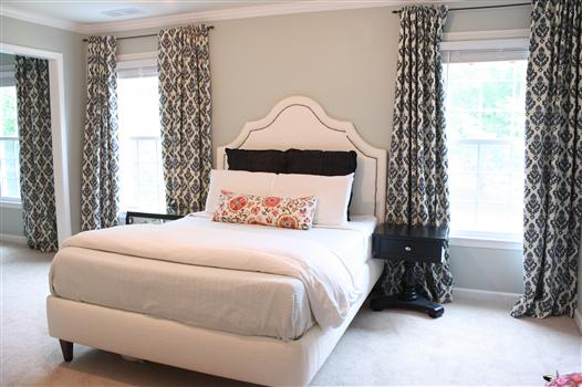 Master Bedroom Curtain Reveal - * View Along the Way on Master Bedroom Curtains  id=95139