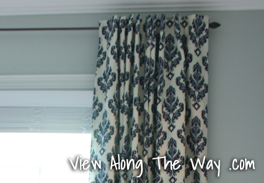 Tutorial How To Sew DIY Black Out Lined Back Tab Curtains