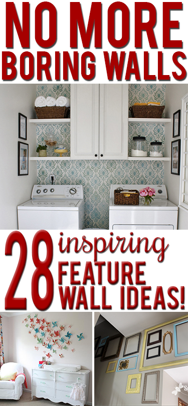 28 creative ideas to decorate your walls inexpensively! on Creative Wall Decor  id=53668