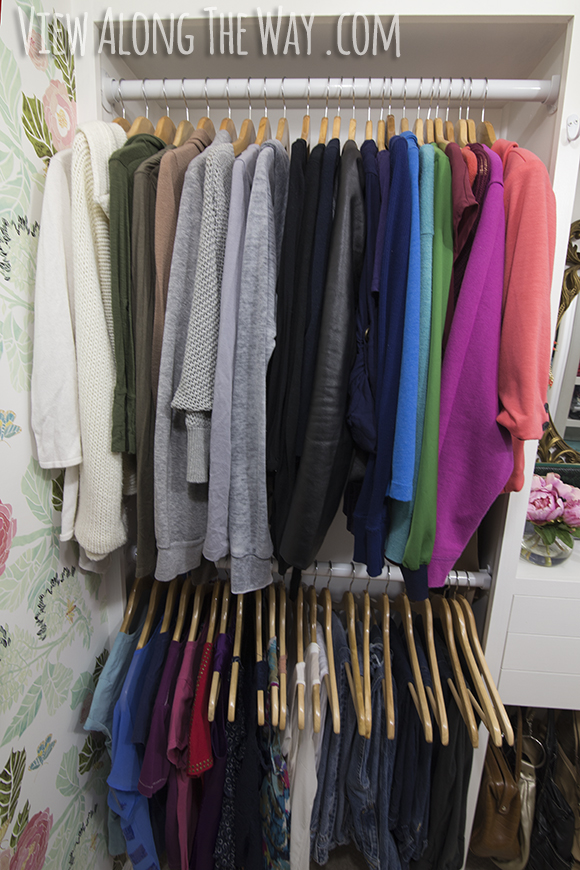 Girly Glam Closet Makeover REVEAL View Along The Way
