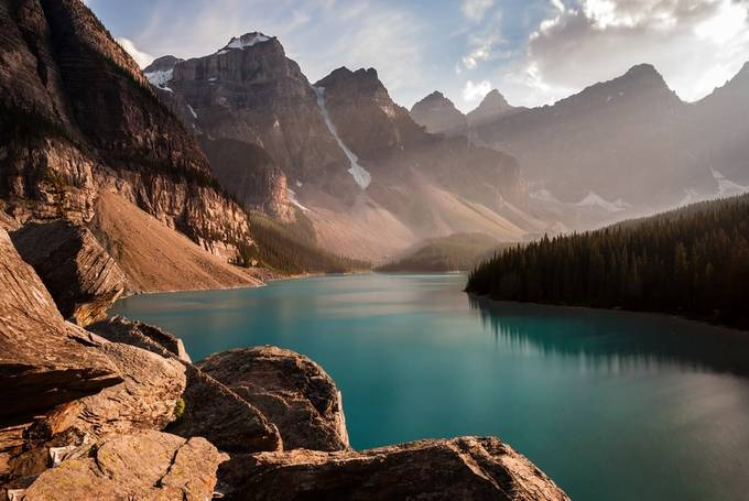 Moraine Lake by Zzyzx - Canada Photo Contest