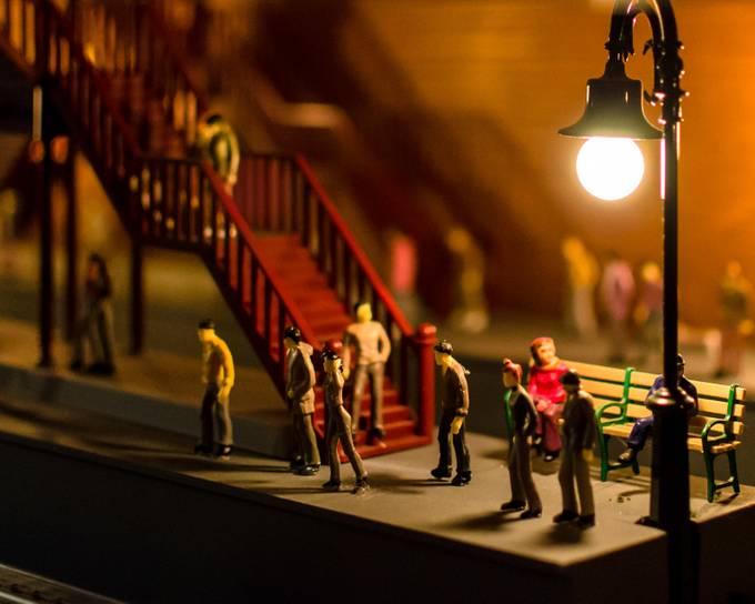 Tiny Subway by johnnystock - Orange Tones Photo Contest
