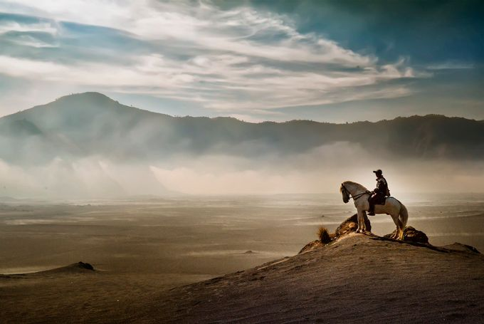 Man On The Desert by pimpin_nagawan - The Wonders of the World Photo Contest