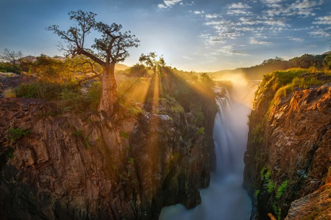 Epupa waterfall by bb676 - The Wonders of the World Photo Contest