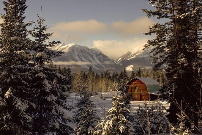 Golden Barn by JackFlash - Canada Photo Contest