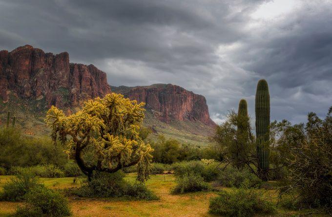Rainy Superstition by wayneslandphotography - Celebrating Nature Photo Contest Vol 5