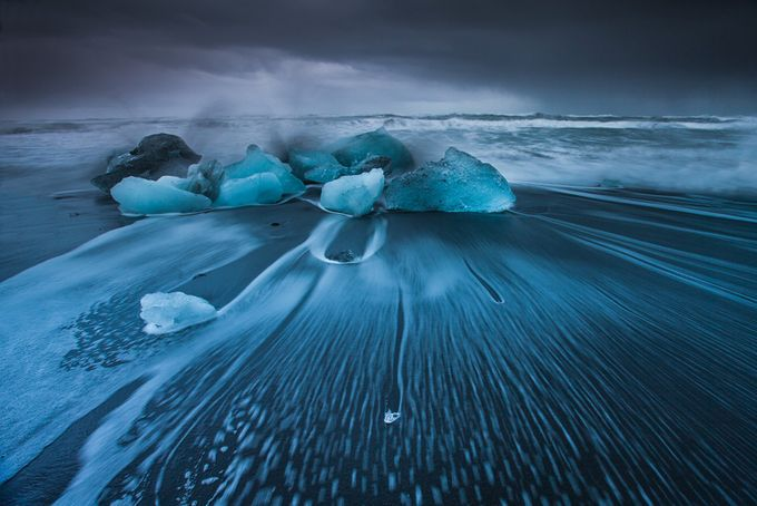 Melting in the wavy ocean by petersvoboda - Celebrating Nature Photo Contest Vol 5