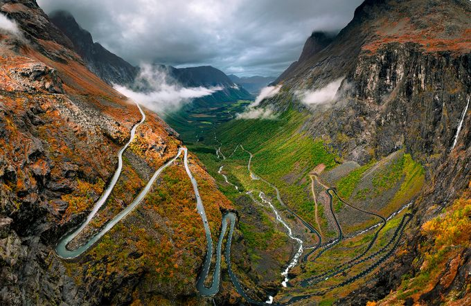 The Long and Winding Road by JudyHess - The Wonders of the World Photo Contest