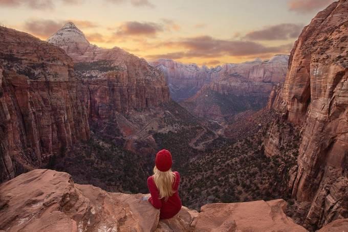 Zion National Park Overlook by ks_pics - Unieke locaties Fotowedstrijd