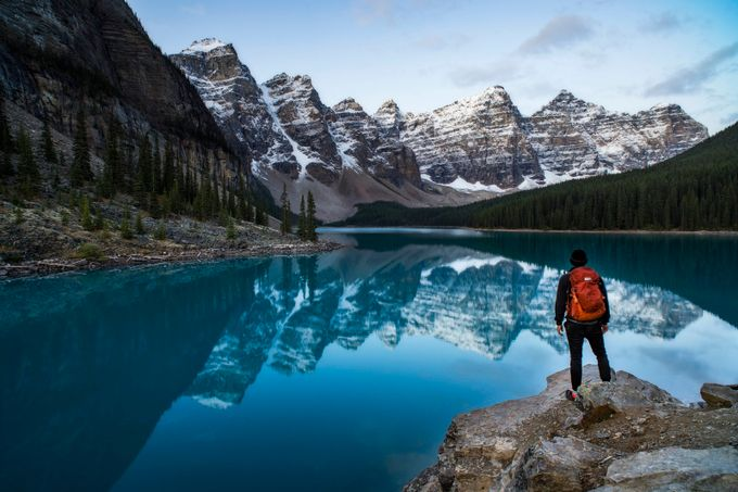 Moraine Lake View by EvanHaas - Canada Photo Contest