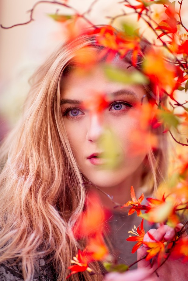 Beauty is My Hobby by benjaminfoote - Orange Tones Photo Contest