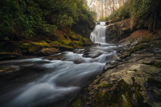 Middle Prong Falls by ryanshanahan - Celebrating Nature Photo Contest Vol 5