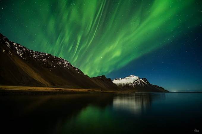Aurora Night Sky by KimNordbyPhotography - The Wonders of the World Photo Contest