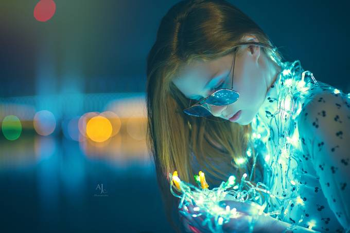 Liliina (dockland) by laansanh - The Blue Color Photo Contest 2018