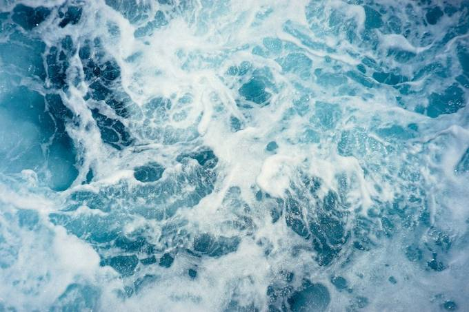 Sea Froth by sportsgirl16 - The Blue Color Photo Contest 2018