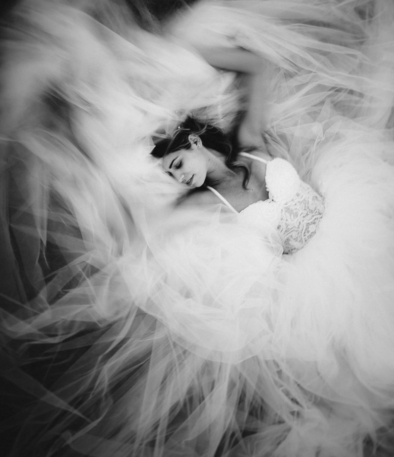 Wedding day fine-art bride portrait. by alessandroavenali - All About The Wedding Photo Contest