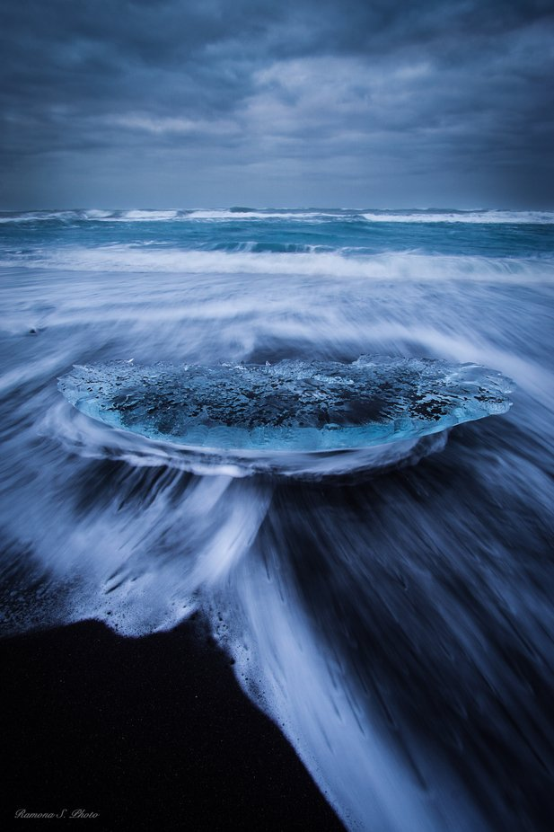 ICEland by RamonaPhoto - The Blue Color Photo Contest 2018