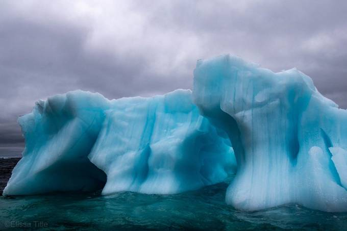 Svalbard Iceberg by elissatitlephoto - The Blue Color Photo Contest 2018