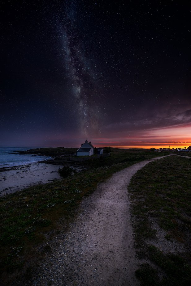 composing-quiberon-milkyway by sylvainmorizot - The Wonders of the World Photo Contest