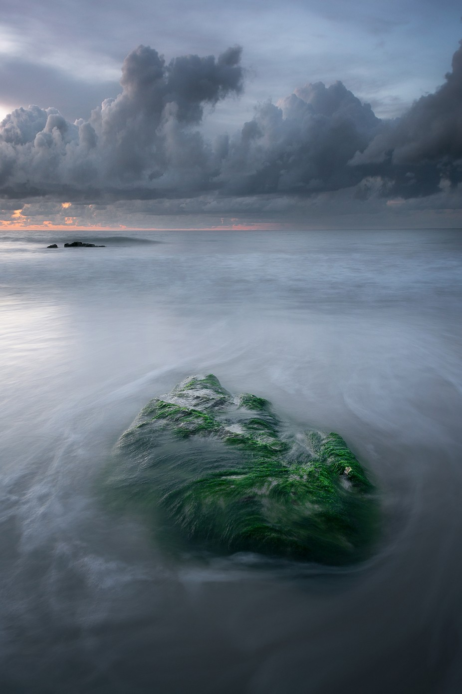 Emerald Rock  by WildSeascapes - Image Of The Month Photo Contest Vol 37