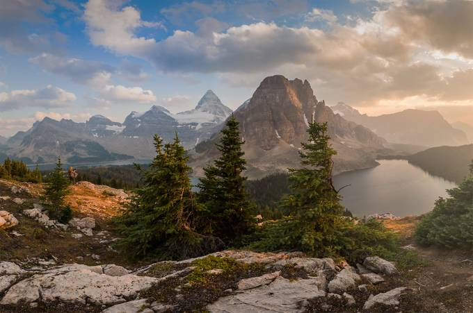 Hazy Assiniboine by JEKAMOBILE - Monthly Pro Photo Contest Vol 45