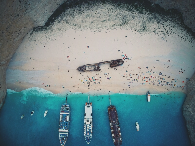 Navagio Beach by marcotelesca - Image Of The Month Photo Contest Vol 37