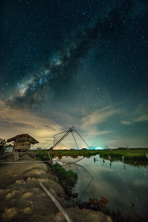 Phattalung Milky Way by Kamsing - Image Of The Month Photo Contest Vol 37