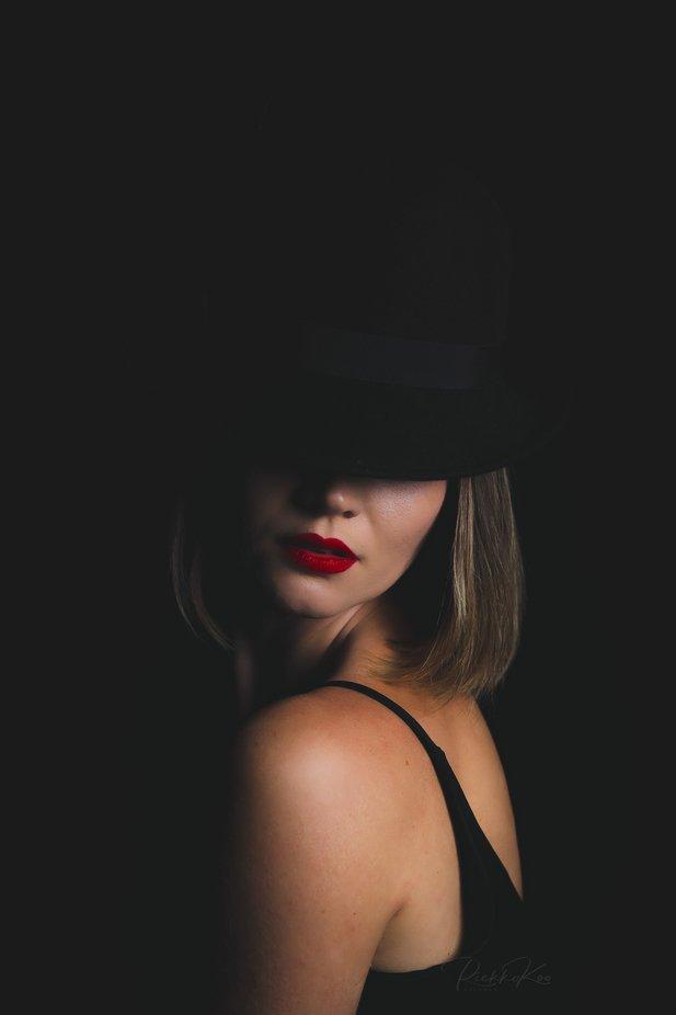Lady in black by RiekkoKoo - Monthly Pro Photo Contest Vol 45