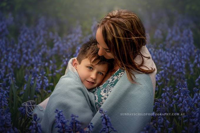 A mother is the first love of her son, and a son is a whole world for a mother by BrionyWilliams - The Blue Color Photo Contest 2018
