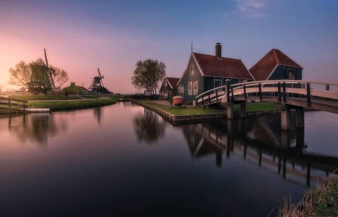 Zaanse Schans by Juliocastropardo - Monthly Pro Photo Contest Vol 45