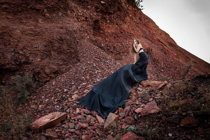 beautiful girl in a dangerous place by DmitryTeperkin - Covers Photo Contest Vol 51