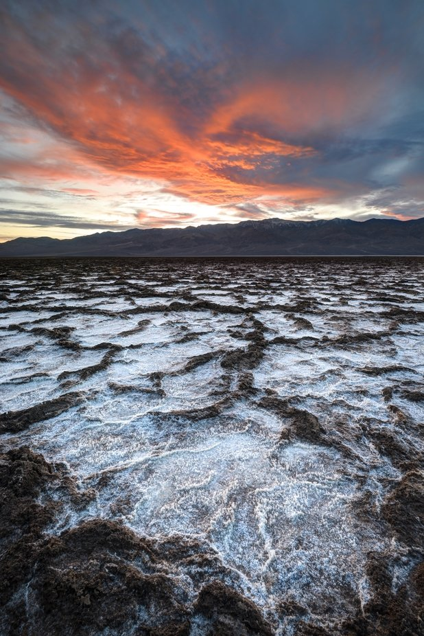 Badwater Sunset by Sierralara - The Wonders of the World Photo Contest